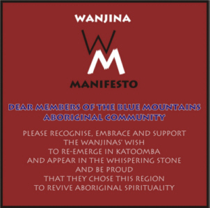 Wanjina-Manifesto-blue-mountains-aboriginal-community-please-recognise-embrace-and-support-the-wanjina's-wish-katoomba-whispering-stone-revive-aboriginal-spirituality