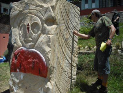 Wanjina-Watchers-Whispering-Stone-Ben-Osvath-carving-Lover-side