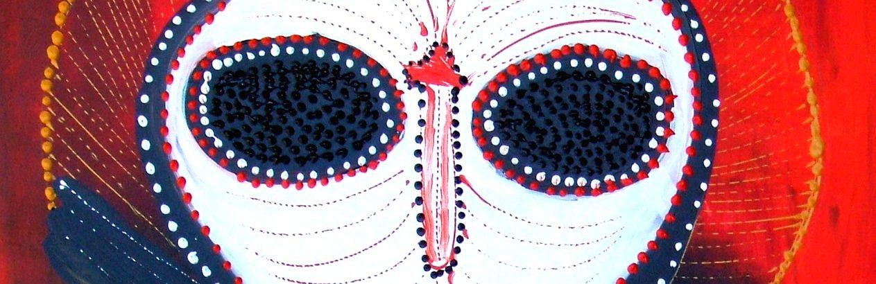 Wanjina-WatchersGina-Sinozich-Red-Wanjina